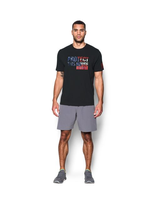 Under Armour - Black Men's Ua Freedom Protect This House T-shirt for Men - Lyst
