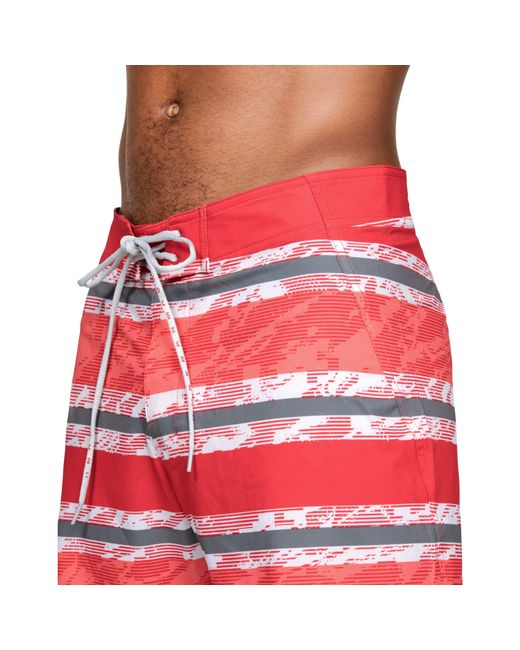 4f3a32b7f38d6 ... Under Armour - Red Men's Ua Tide Chaser Boardshorts for Men ...