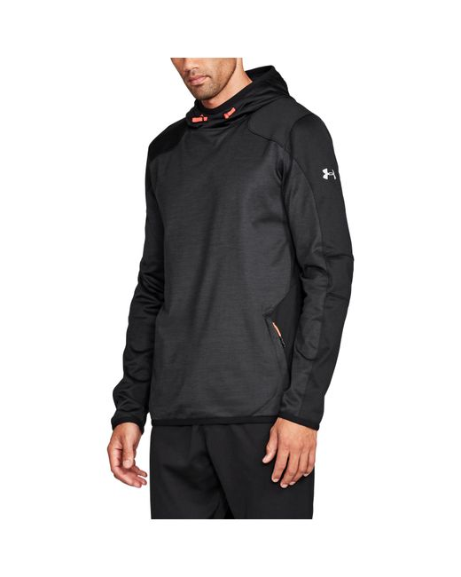 Under Armour - Black Men's Coldgear® Reactor Fleece Hoodie for Men - Lyst