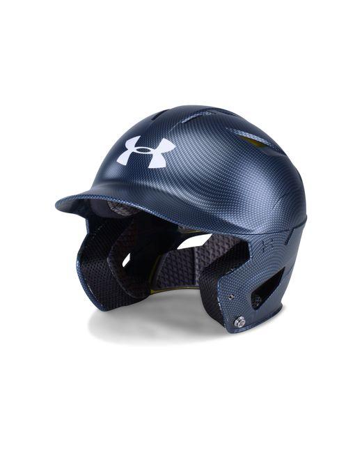 Under Armour - Blue Men's Ua Converge Batting Helmet Carbon Tech for Men - Lyst