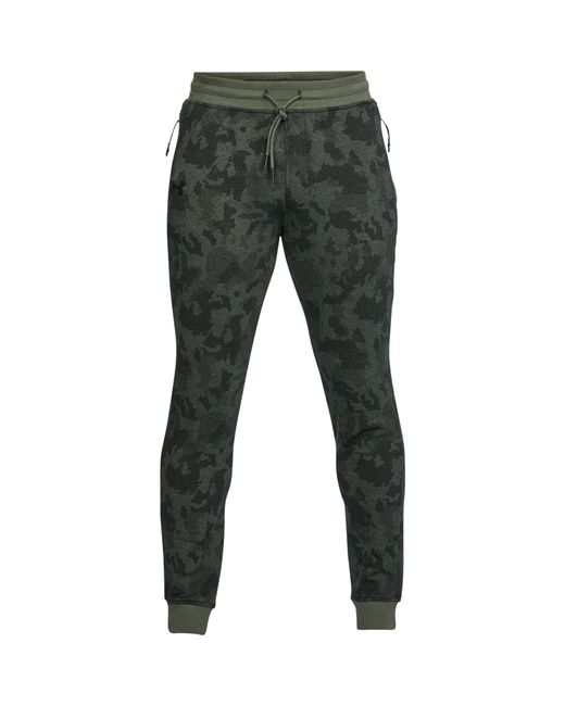 Lyst Under Armour Men's Ua Threadbornetm Fleece Patterned Stacked Simple Mens Patterned Joggers