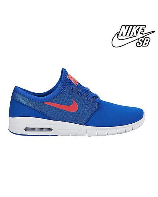 Nike Janoski Max Game Royal  Punch 631303-461 in Blue for Men  64f1c128d