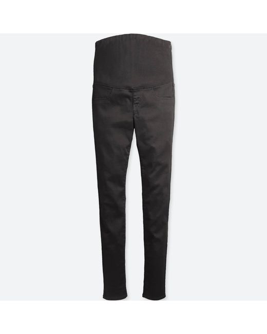 d003752488 Lyst - Uniqlo Women Maternity Ultra Stretch Jeans in Black