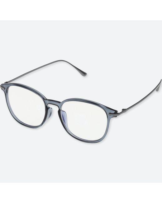 Uniqlo - Gray Boston Combination Clear Sunglasses for Men - Lyst