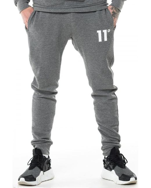 11 Degrees - Gray Core Joggers for Men - Lyst