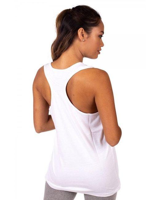 ea42f089192 ... Lyst Ellesse - White Women s Abigaille Vest ...