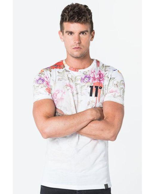 11 Degrees   White Sub T-shirt for Men   Lyst