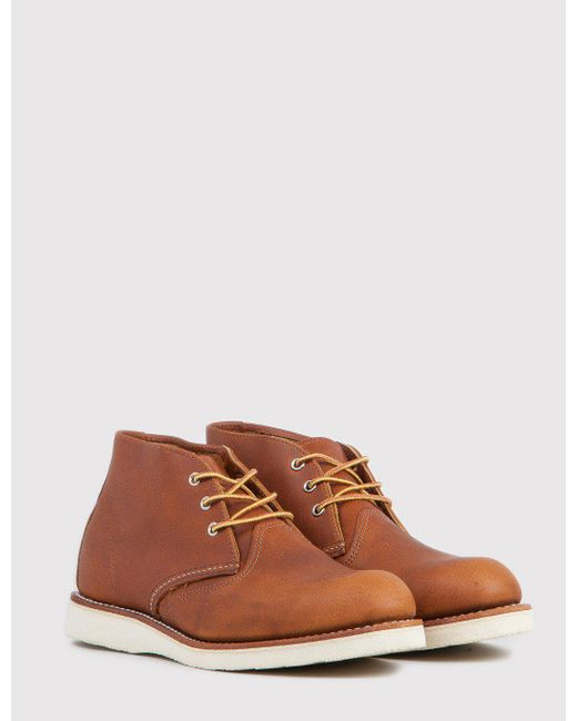 Red Wing | Brown 3140 Heritage Work Chukka for Men | Lyst