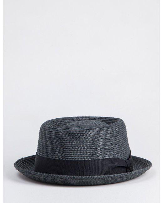 Bailey of Hollywood - Black Bailey Waits Pork Pie Hat for Men - Lyst