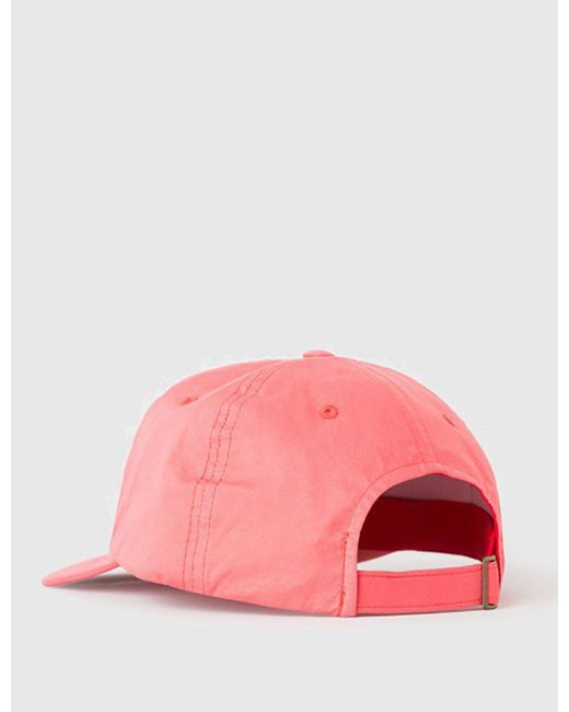 c19a719fb92 ... Stussy - Red Bio Washed Low Cap for Men - Lyst
