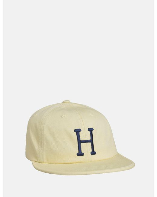 Huf - Yellow Formless Classic H 6 Panel Cap for Men - Lyst