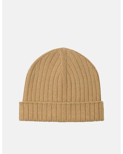 A.P.C. - Natural Bear Beanie Hat - Lyst