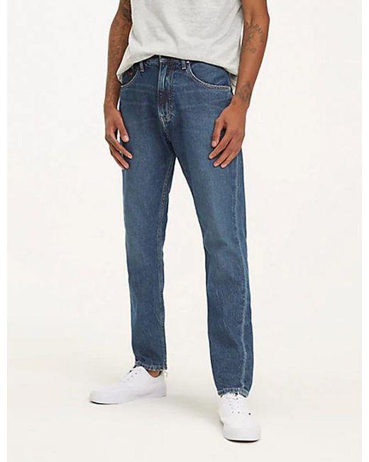 07dc7e38 Tommy Hilfiger - Blue Modern Tapered 1988 Jeans for Men - Lyst ...