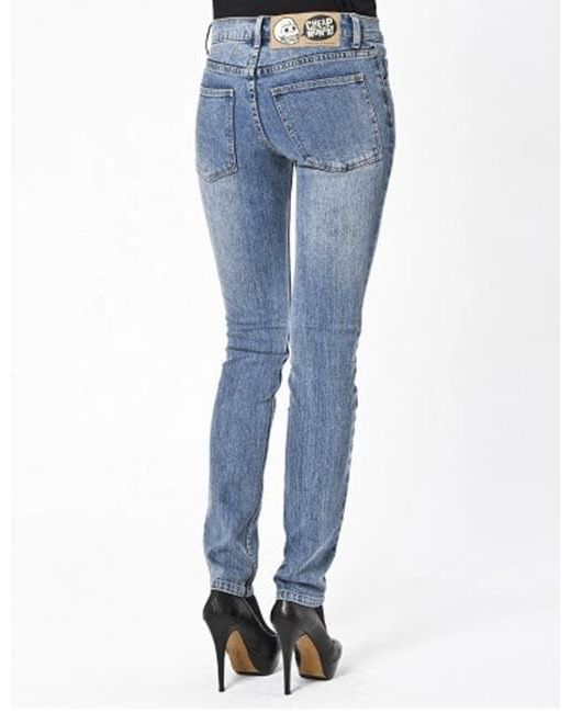 5a56d79cd06 Cheap Monday - Blue Womens Tight Skinny Jeans - Lyst ...