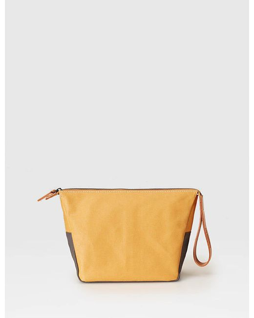 Ally Capellino - Yellow Nazim Washbag for Men - Lyst