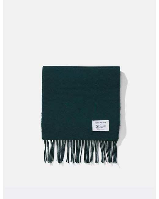 Norse Projects - Green X Johnstons Lambswool Scarf for Men - Lyst