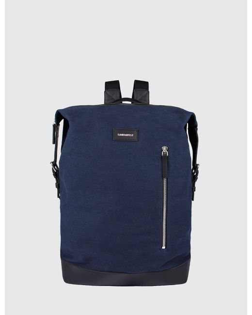 Sandqvist - Blue Adam Backpack (canvas) for Men - Lyst