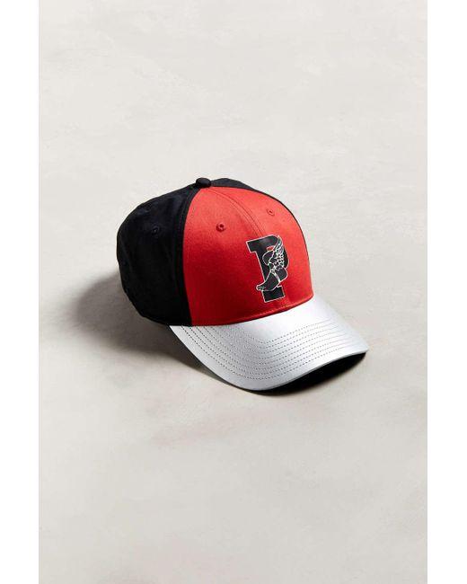 05d8608326a Polo Ralph Lauren - Red P-wing Classic Sport Baseball Hat for Men - Lyst ...