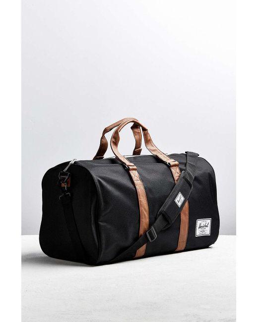 Herschel Supply Co.   Black Novel Weekender Duffle Bag for Men   Lyst