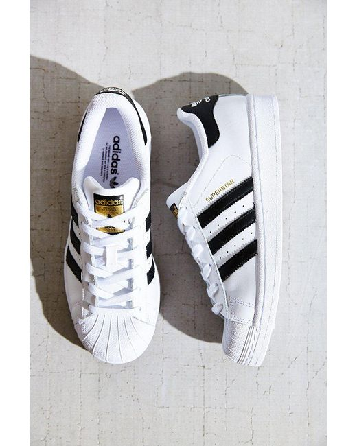 Adidas Originals   White Originals Superstar Sneaker   Lyst