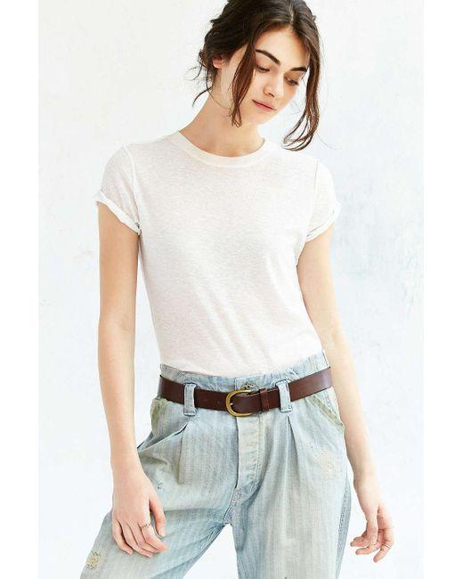 BDG | Brown Everyday Leather Belt | Lyst