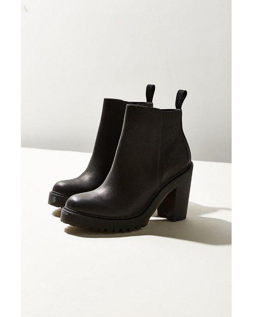 Dr. Martens | Black Magdalena Leather Ankle Boots | Lyst