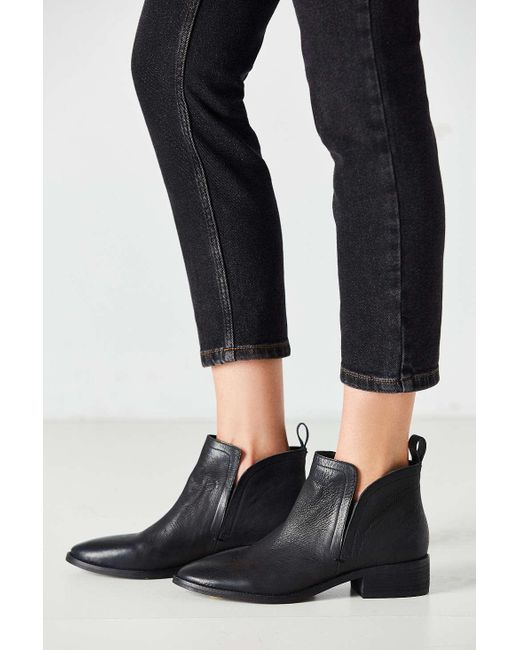 Dolce Vita | Black Tessey Ankle Boot | Lyst