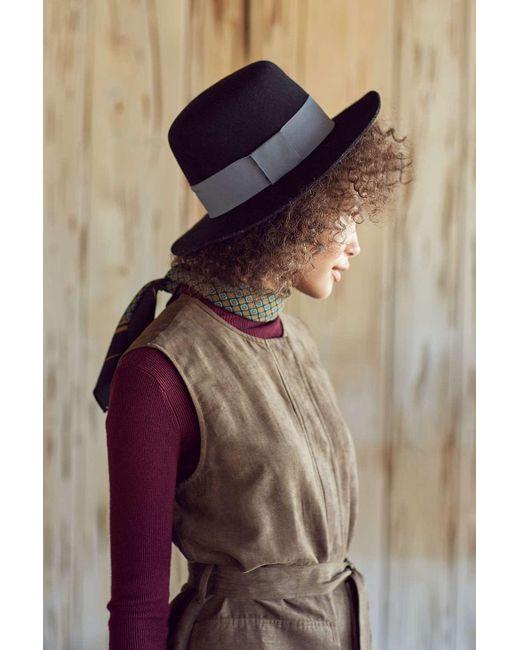 Urban Outfitters | Black Sadie High Crown Felt Hat | Lyst