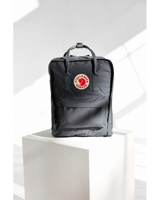 Fjallraven   Gray Kanken Backpack   Lyst