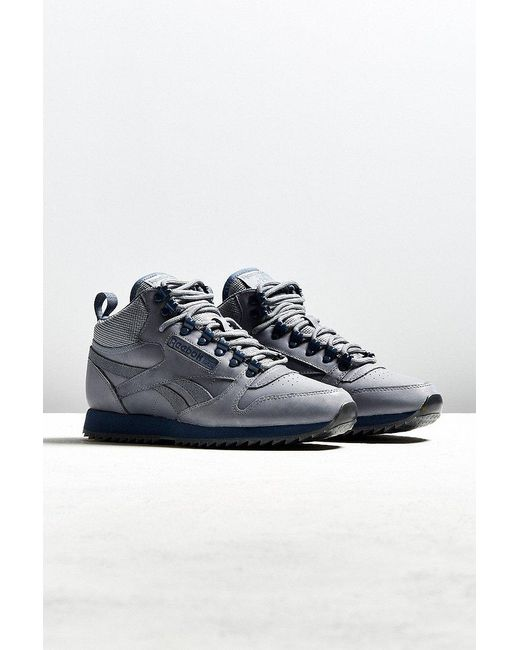 reebok classic leather grey mono exclusive