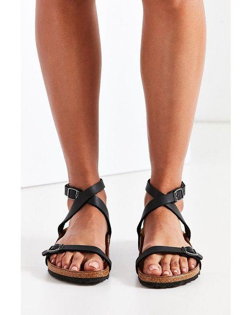 8901c709efbf Lyst - Birkenstock Daloa Sandal in Black - Save 1%