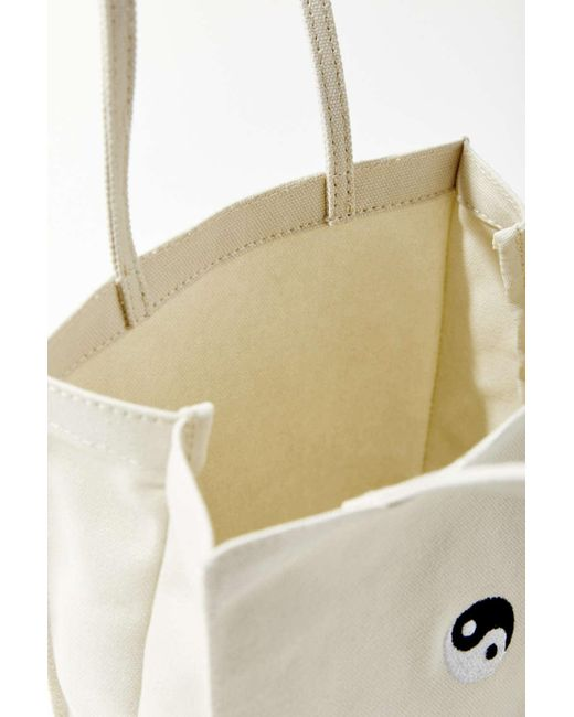 d17d9e50ba ... Urban Outfitters - Natural Mini Canvas Tote Bag - Lyst ...