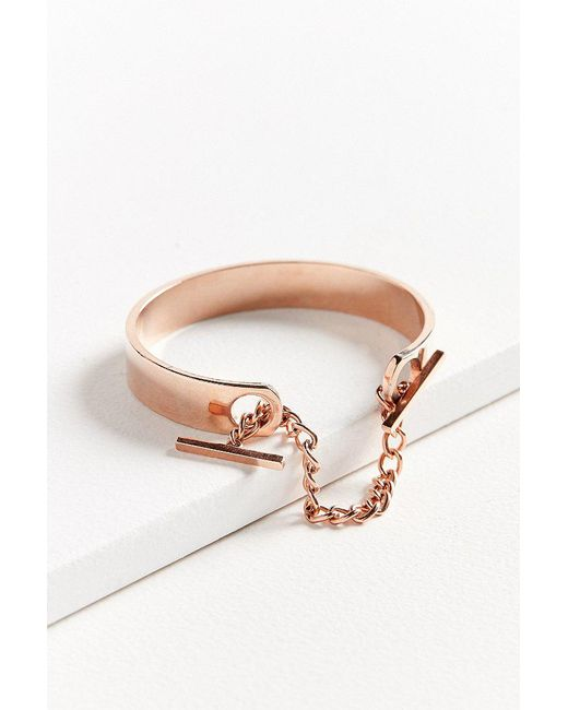 Urban Outfitters | Multicolor Chain Cuff Bracelet | Lyst