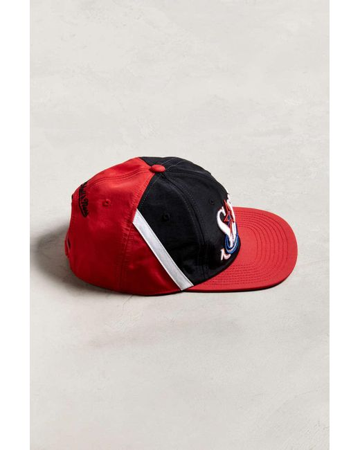 b86d0b882 Mitchell & Ness Philadelphia 76ers Snapback Hat in Red for Men - Lyst