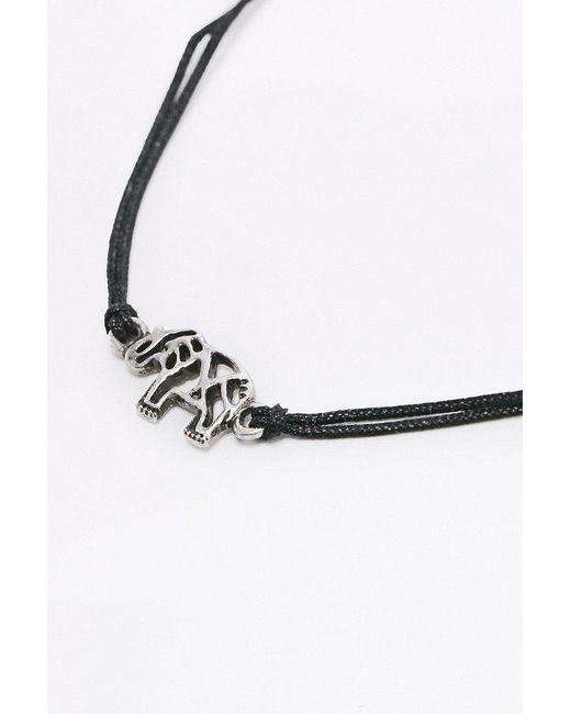 Urban Outfitters | Metallic Elephant Cord Bracelet | Lyst