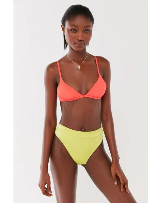 d93bb43cc39d0 Out From Under - Multicolor Shimmer Harley Triangle Bikini Top - Lyst ...