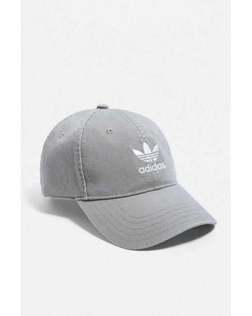 9b2e79ad ... Adidas - Gray Grey Acid Wash Cap for Men - Lyst ...