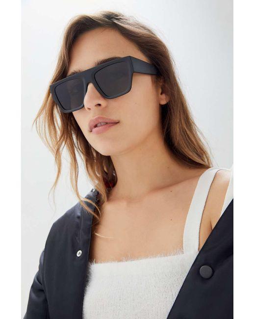 18ccb14c64 Urban Outfitters - Black Shiloh Shield Sunglasses - Lyst ...