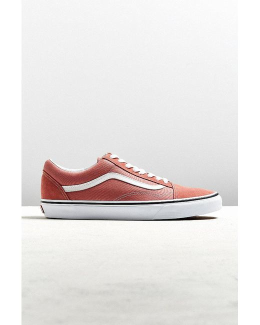 Vans | Red Vans Old Skool Sneaker for Men | Lyst