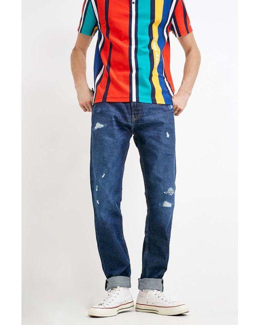 a774d726 ... Tommy Hilfiger - 19 Dark Blue Modern Tapered Jeans - Mens 28w for Men -  Lyst ...