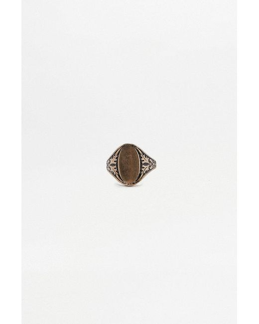 Urban Outfitters | Metallic Vintage-inspired Signet Ring | Lyst