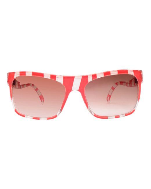 Rarities | Blue Vintage Candy Stripe Sunglasses | Lyst