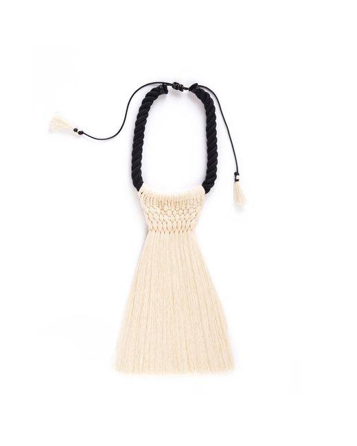 Caralarga | Black Atrapa Brujas Necklace | Lyst
