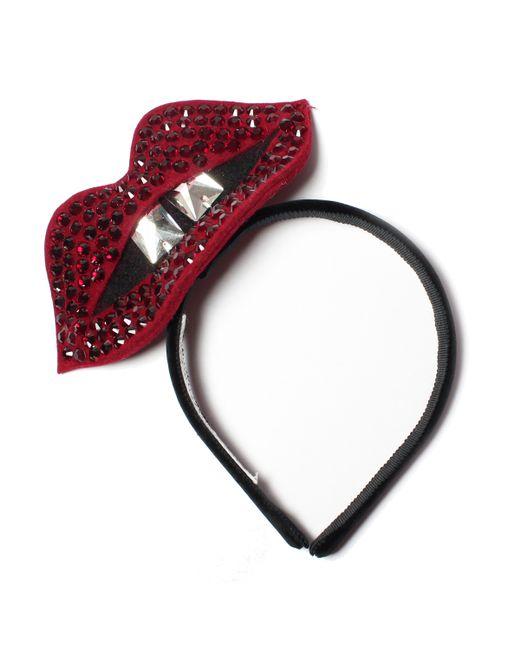 Benoit Missolin | Metallic Vanessa Lips Headband | Lyst