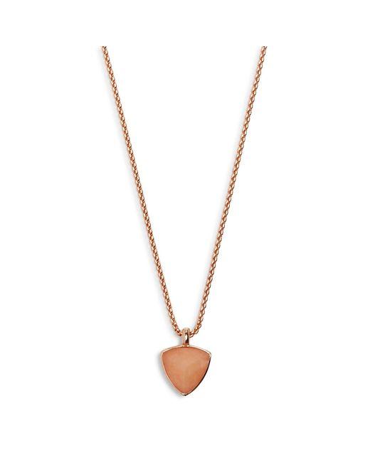 Vera Bradley - Metallic Geo Facets Slider Necklace - Lyst