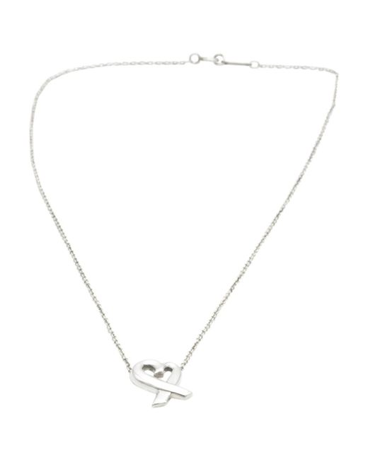 Tiffany & Co - Metallic Paloma Picasso Silver Necklace - Lyst