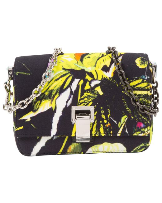 Proenza Schouler - Multicolor Small Courier Leather Crossbody Bag - Lyst