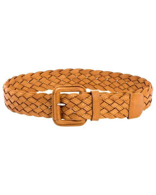 Chloé - Multicolor Leather Belt - Lyst