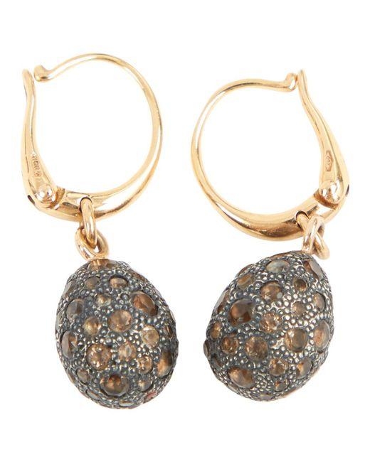Pomellato - Metallic Pre-owned Tabou Gold Gold Earrings - Lyst