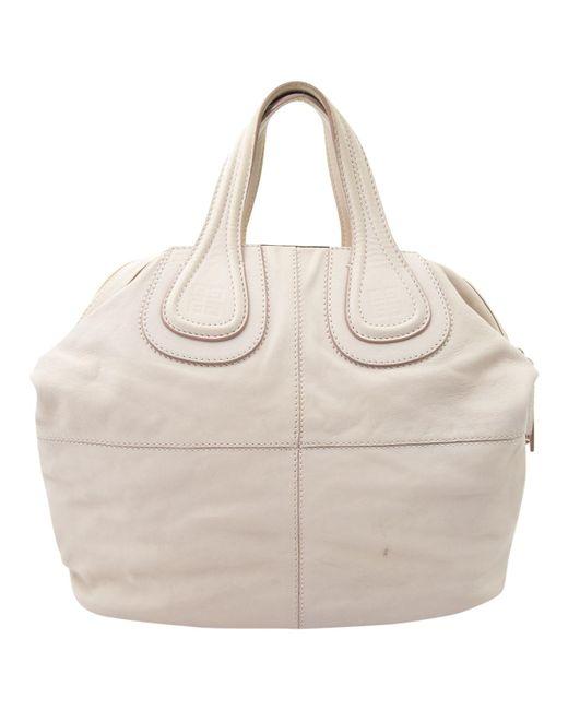Givenchy - Pink Nightingale Leather Handbag - Lyst